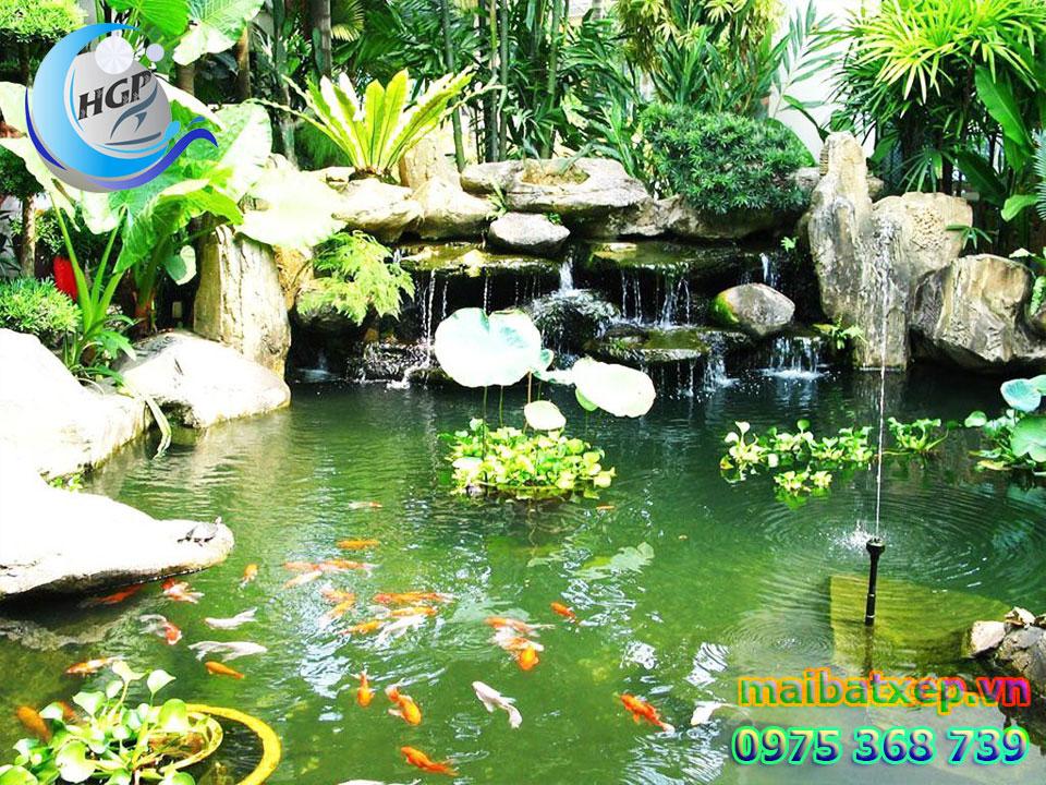 Bạt Nhựa HDPE Lót Ao Hồ Chứa Nước Nuôi Cá Tôm Tại Bình Định