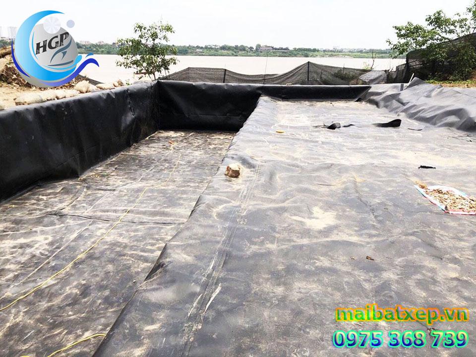 Bạt Nhựa HDPE Lót Ao Hồ Chứa Nước Nuôi Cá Tôm Tại Kiên Giang