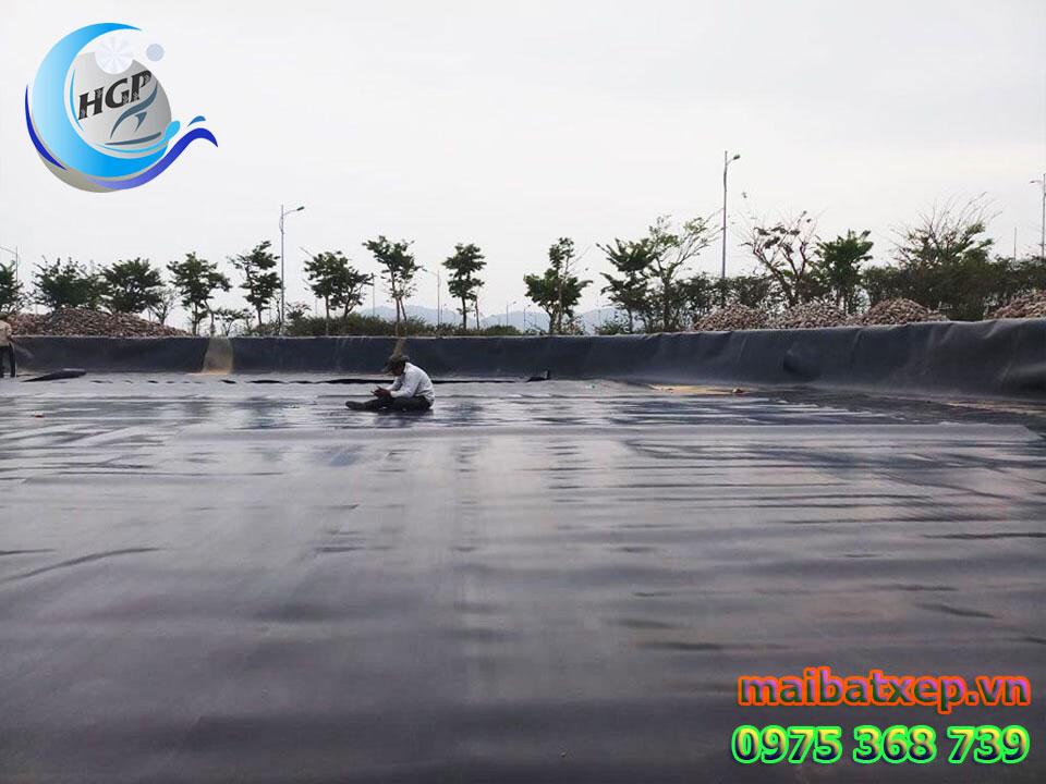 Bạt Nhựa HDPE Lót Ao Hồ Chứa Nước Nuôi Cá Tôm Tại Phan Thiết