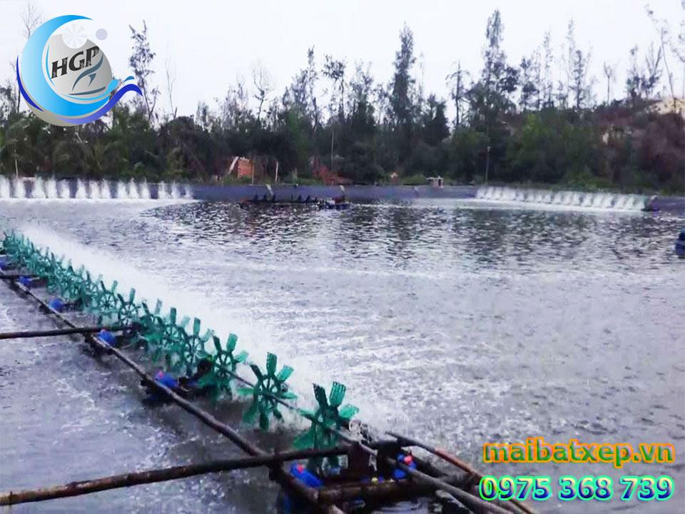 Bạt Nhựa HDPE Lót Ao Hồ Chứa Nước Nuôi Cá Tôm Tại