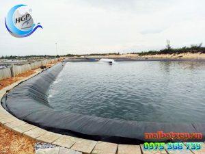 Bạt Nhựa HDPE Lót Ao Hồ Chứa Nước Nuôi Cá Tôm Tại Nha Trang