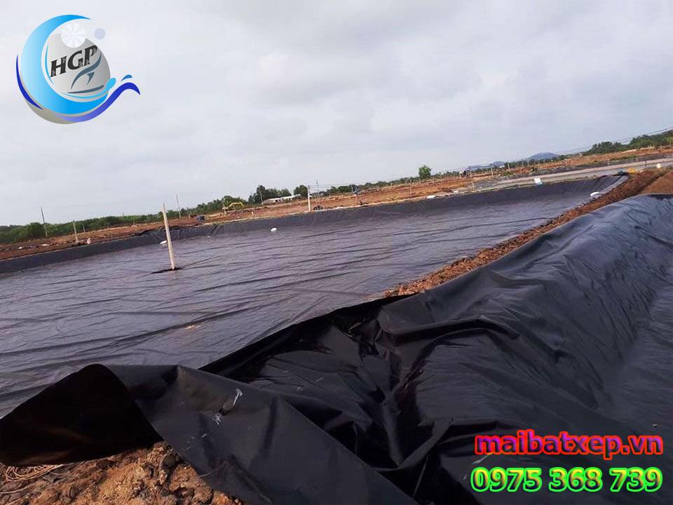 Bạt Nhựa HDPE Lót Ao Hồ Chứa Nước Tưới Cây Nuôi Cá Tại Đà Lạt