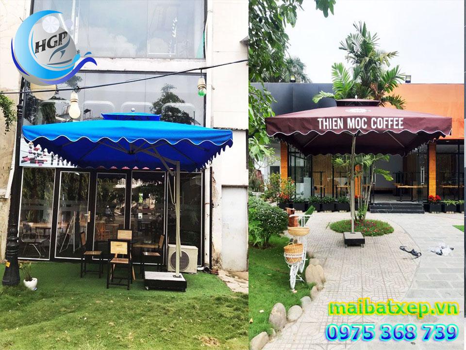 Địa Chỉ Bán Dù Che Nắng Mưa Quán Cafe Ngoài Trời Tại Quận 3