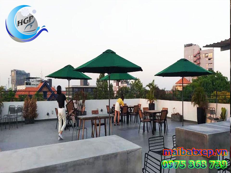 Địa Chỉ Bán Dù Che Nắng Mưa Quán Cafe Ngoài Trời Tại Quận 4