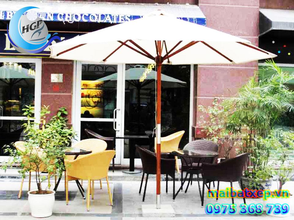 Địa Chỉ Bán Dù Che Nắng Mưa Quán Cafe Ngoài Trời Tại Quận 1