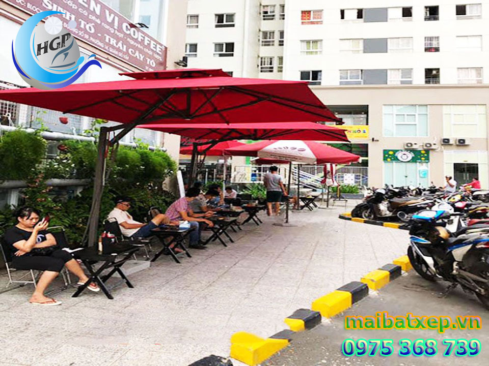 Dù Che Nắng Quán Cafe, Dù Che Nắng Resort, Dù Che Khách Sạn Nhà Hàng Giá Rẻ Tại TPHCM